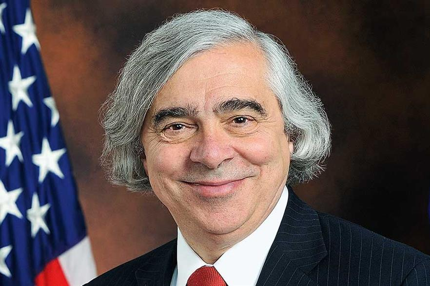 Ernest Moniz became only the second US energy secretary to make a keynote speech at the annual AWEA conference