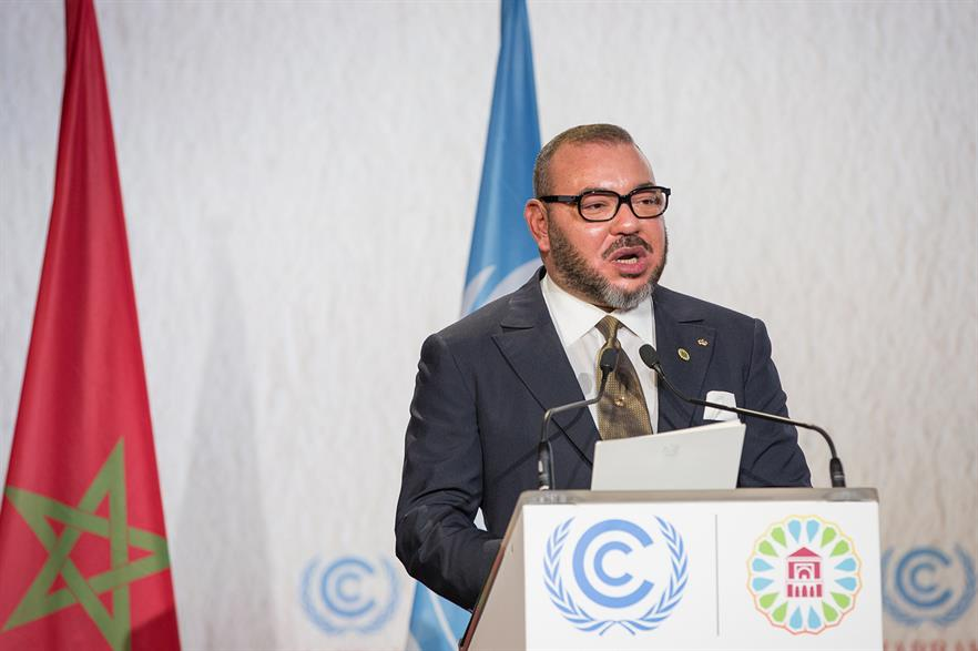 Moroccan King Mohammed VI said the clean energy target in the country should be higher (pic: UN Climate Change)