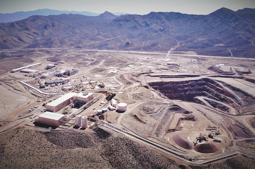 Mountain Pass rare earth mine in California (pic credit: MP Materials)