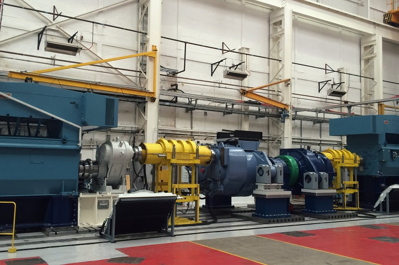 Moventas' new test bench in Huddersfield, north-west England