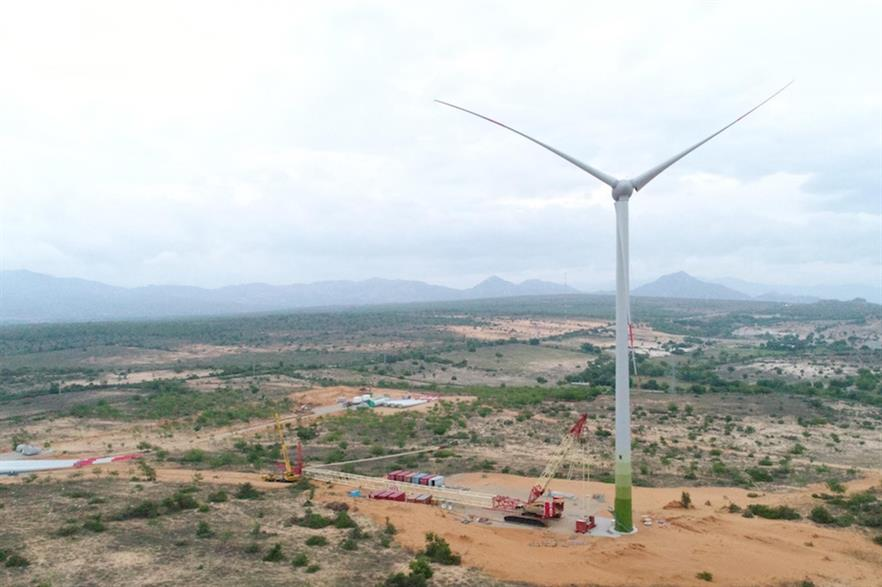Enercon's E-103 EP2 turbine at the Mui Dinh wind farm in south-east Vietnam (pic credit: eab New Energy)