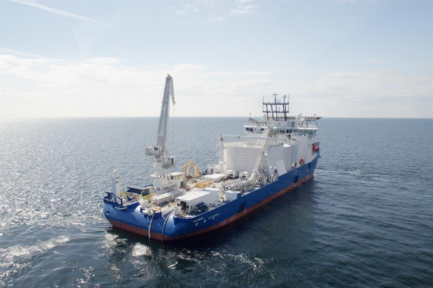 NKT's cable-laying vessel 'Victoria'