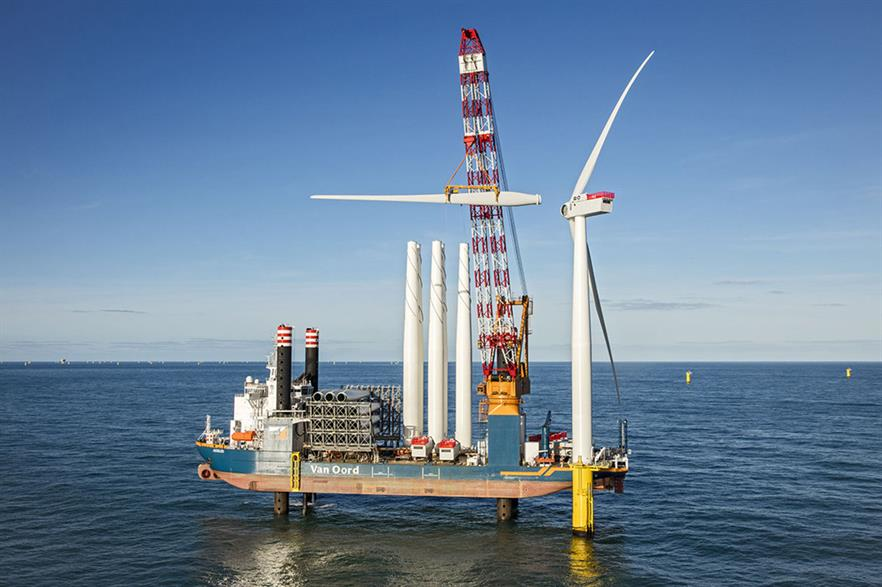 Turbine installation at the 600MW Gemini project in the Netherlands has been completed