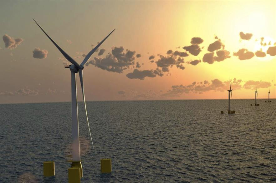Eolfi is developing a pilot project off Brittany that will feature three MHI Vestas turbines installed on Naval Energies' platforms
