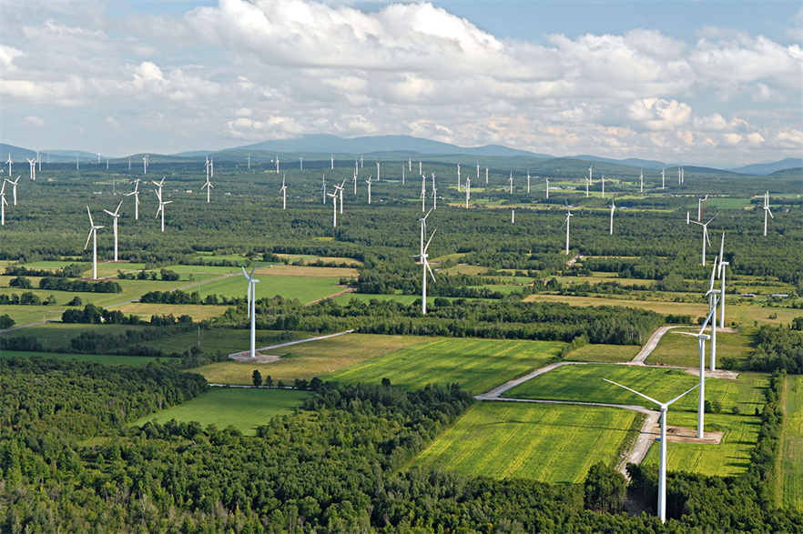 Many US states, including New York, already have their own clean energy standard (pic: Noble Environmental Power)