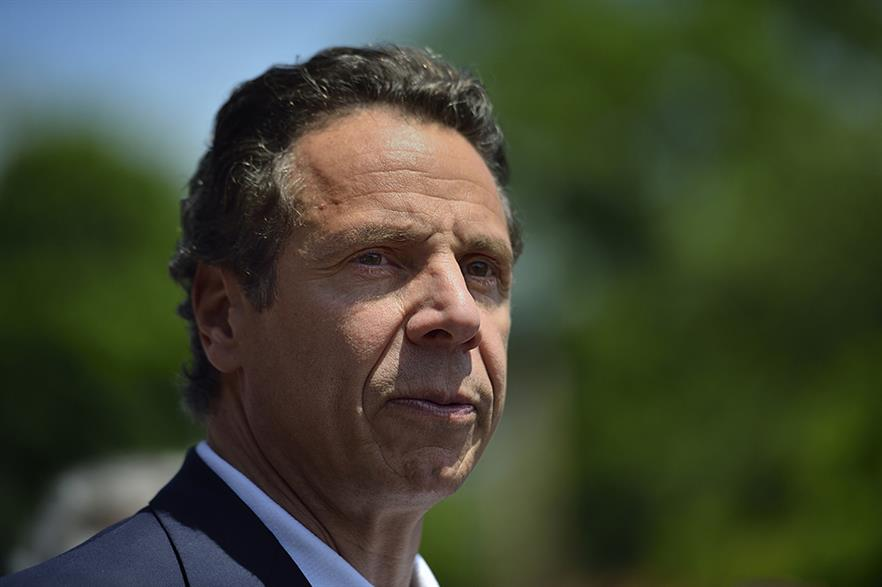 New York state governor Andrew Cuomo (pic: Diana Robinson)