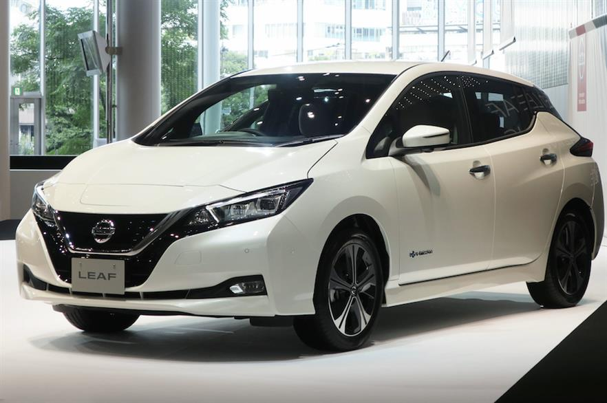 AESC batteries have been used in more than 340,000 Nissan Leaf electric vehicles (pic: Wikimedia Commons/Qurren)