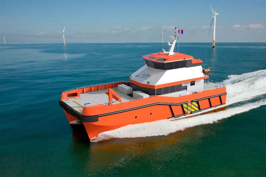 BMT's new 26-metre service vessel