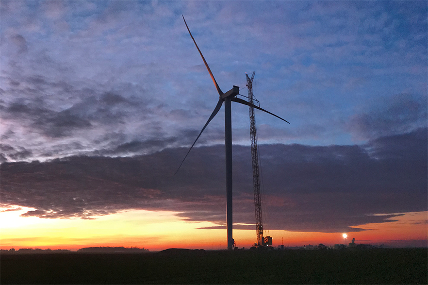 Nordex will supply the turbines for the MacIntyre project in 5.7MW operating mode