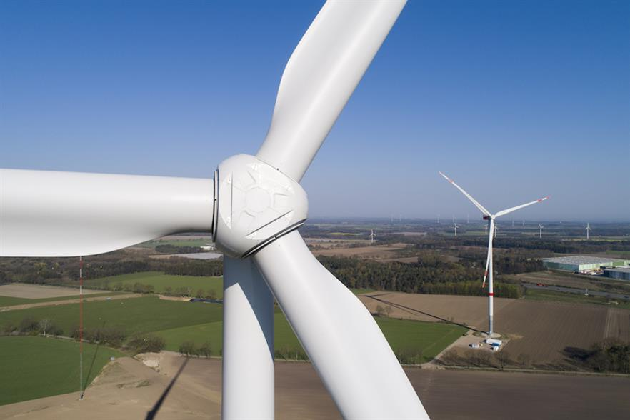 Nordex secured 1.4GW of orders for turbines from its Delta4000 series (above) in the first quarter of 2020