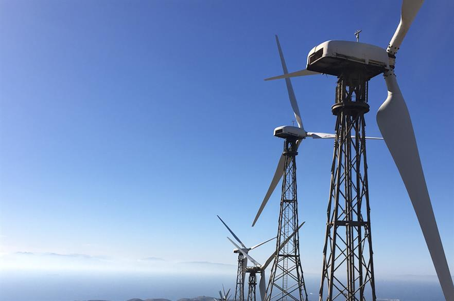 The 30MW El Cabrito wind farm currently comprises 90 330KW turbines (pic: Nordex)