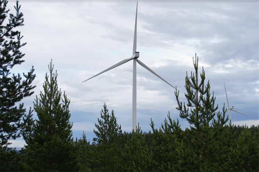 Finland was the top onshore wind market for investment, according to BloombergNEF (pic credit: Nordex)