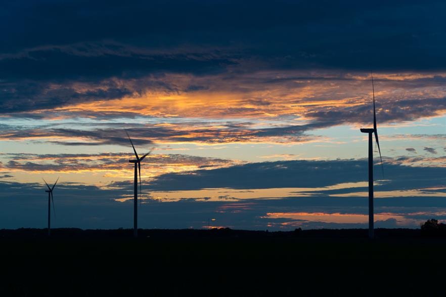 The N117/2.4MW turbines are suited to Bavaria's low wind speeds