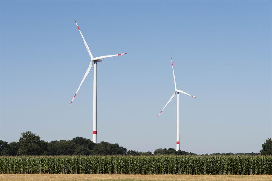 Nordex's AW132/3465 turbines (above) feature in the Ventos da Serra do Mel 4 wind farm