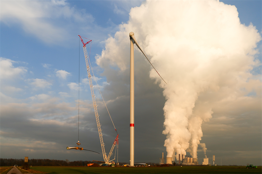 Fossil fuels — and coal especially — are expected to meet half of the increase in electricity demand this year (pic credit: Windtest Grevenbroich)