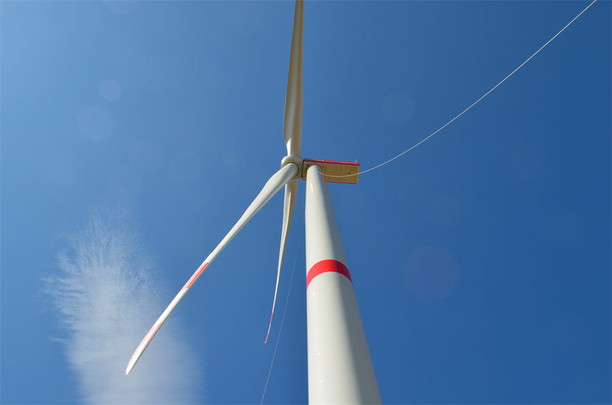 Nordex installed a 5.7MW prototype at a wind farm in Germany last month