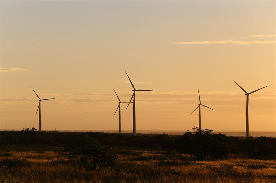 All of Nordex's capacity in Brazil uses Acciona Windpower-designed hardware