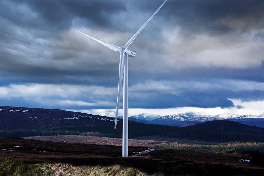 Nordex is aiming the N133/4800 turbine at UK and Norwegian high wind speed sites