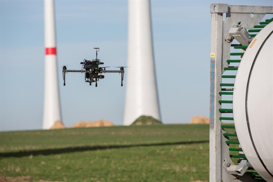 Nordex will use Lufthansa drones to inspect its turbine blades