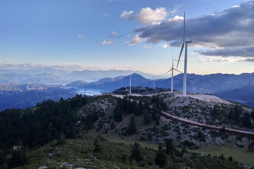 Greece's wind capacity stands at just under 3GW, according to Windpower Intelligence (pic: Nordex)
