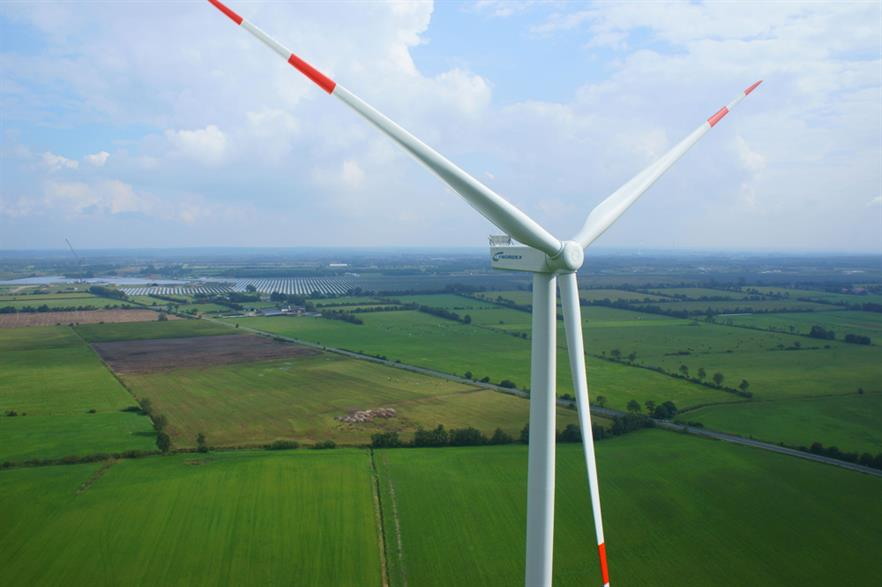 The Melfi I project will use eight N117/3000 turbines