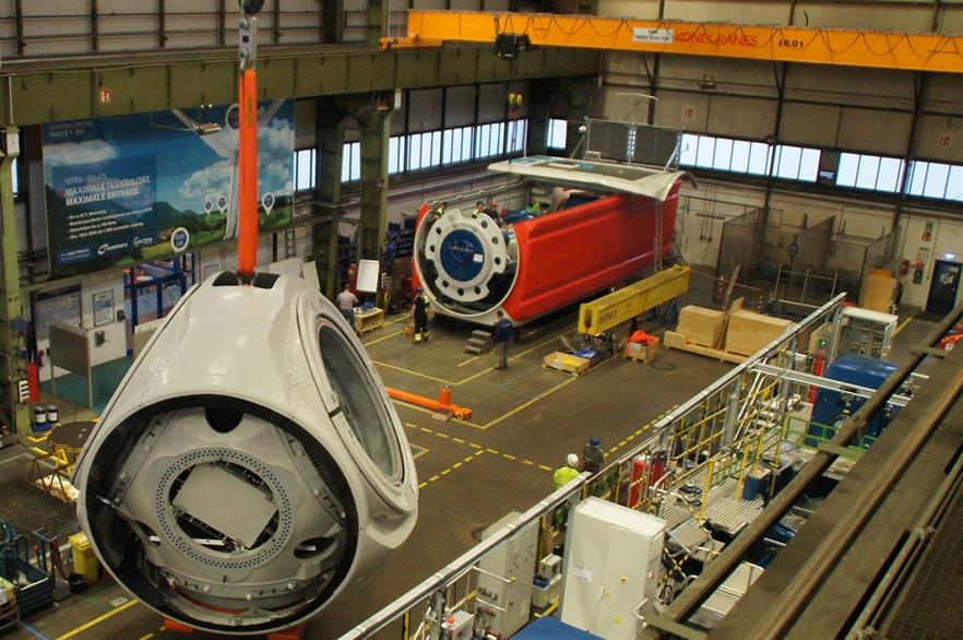 Nordex unveiled the N149/4-4.5MW turbine in September 2017