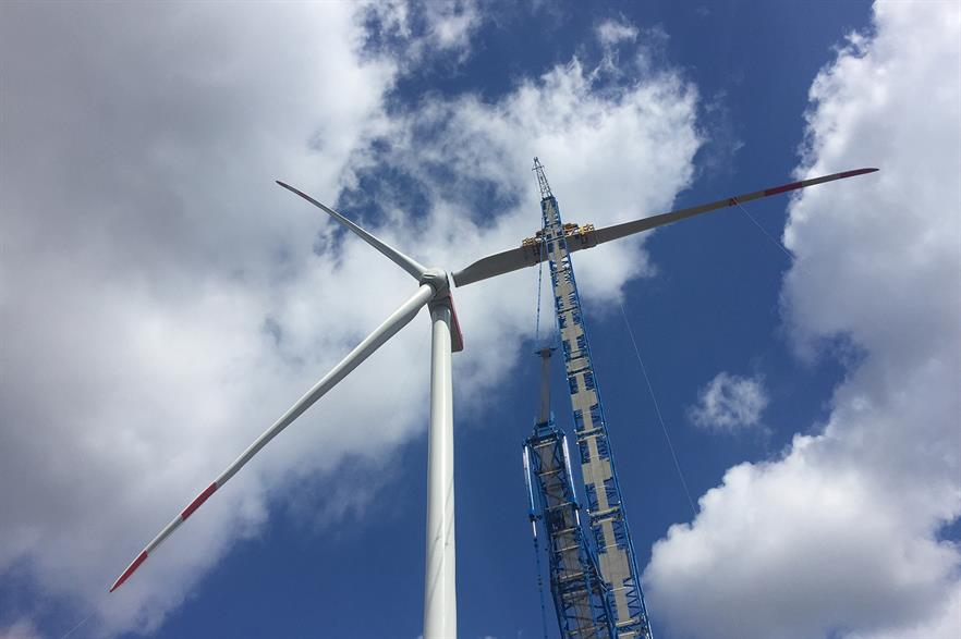 Nordex's N149 4.0-4.5MW turbine was a popular model choice in Q4, the company said