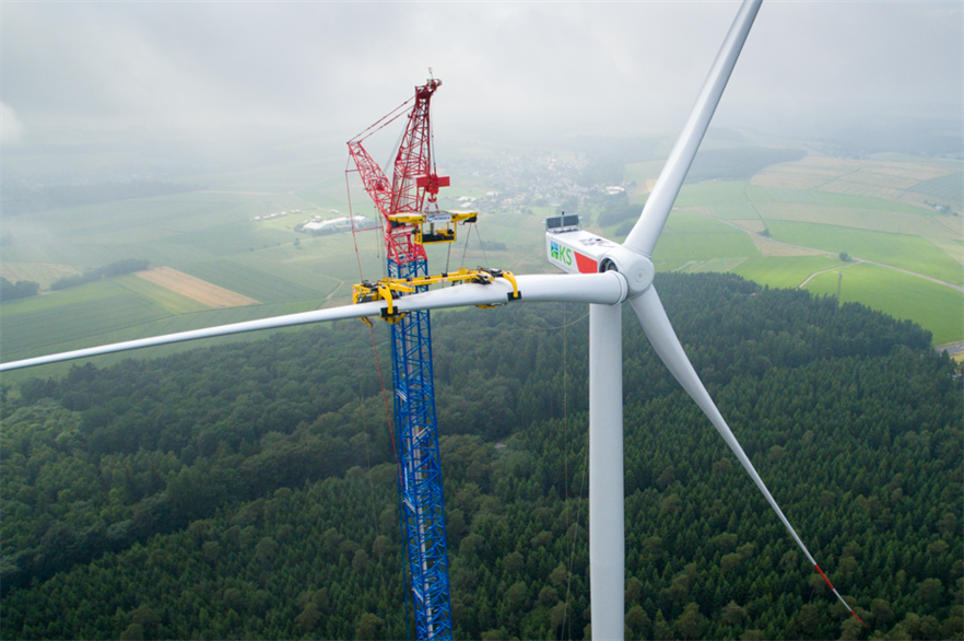 In Germany, Nordex increased its market share to 14.9% from 11.7% in 2015