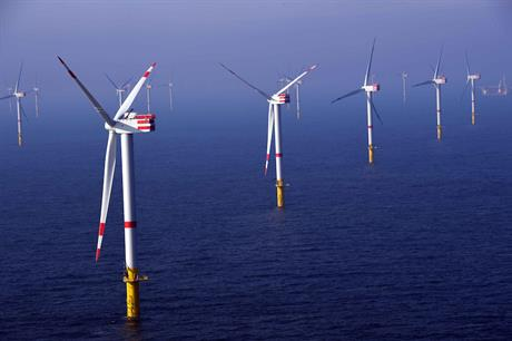 Senvion 6.2M126 turbines at the Nordsee One project in the German North Sea