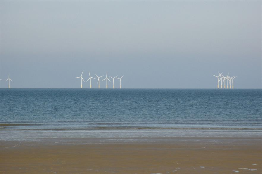 North Hoyle, the UK's first large-scale offshore wind farm, was commissioned in 2004 (pic: Christopher Jones)