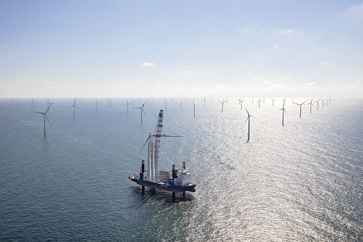 Wpd owns a stake in the Gemini offshore wind farm off the Dutch coast (pic credit: Northland Power)