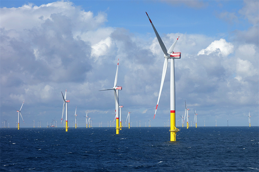 The 6MW SGRE turbines at Germany's 385MW Arkona site are the biggest machines currently deployed at a commercial site in the Baltic Sea (pic: Ein Dahmer/wikimediacommons)