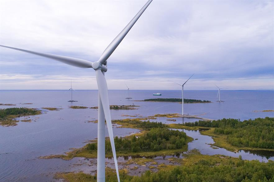 OX2's newly repowered wind farm in Kemi, Finland (pic: Olli Koskimäki)
