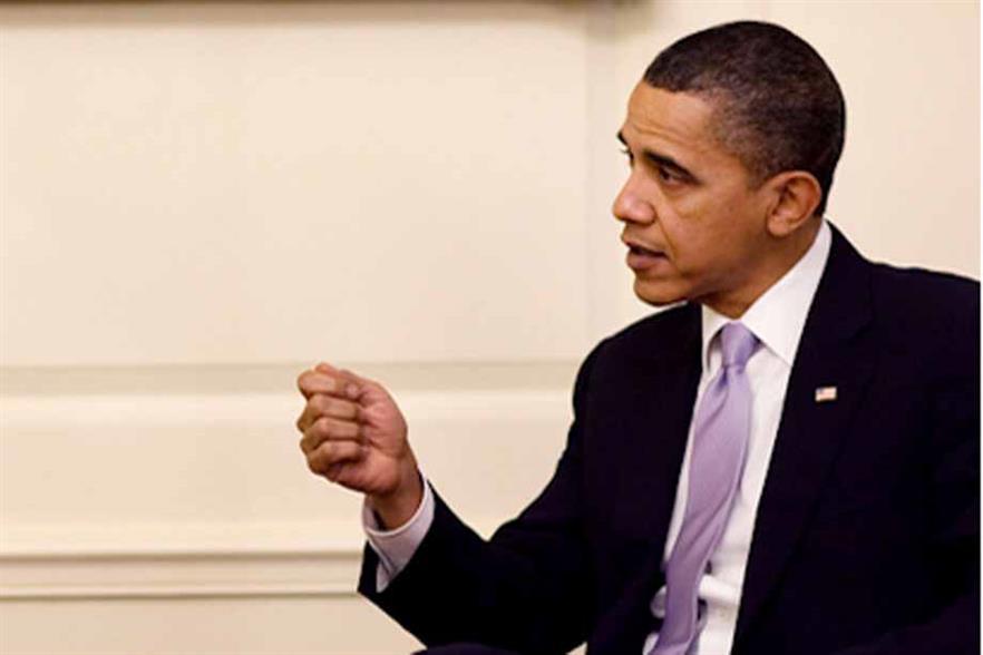 Obama had previously set a 7.5% target