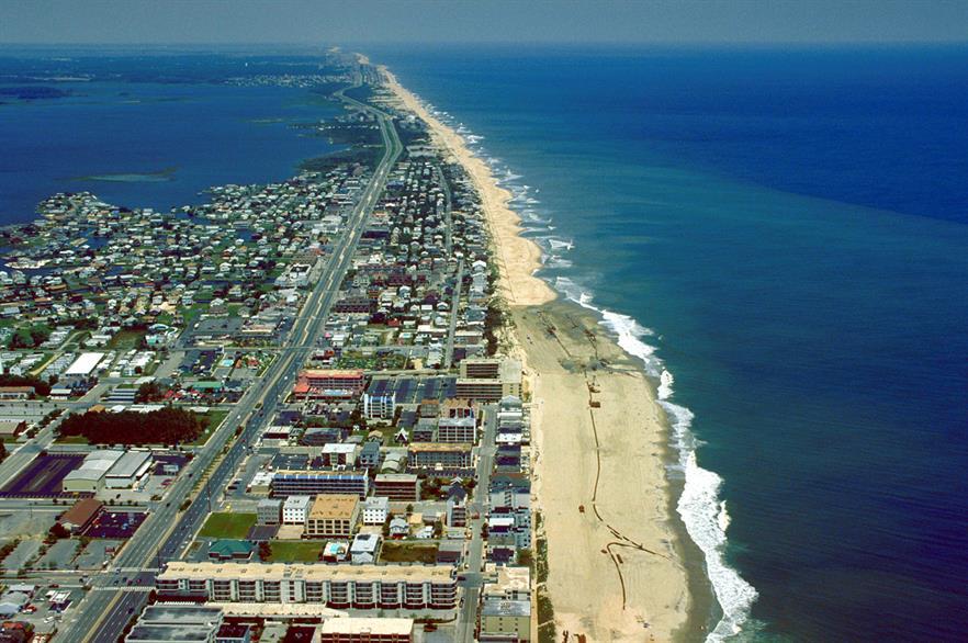 Ocean City, northeast Maryland