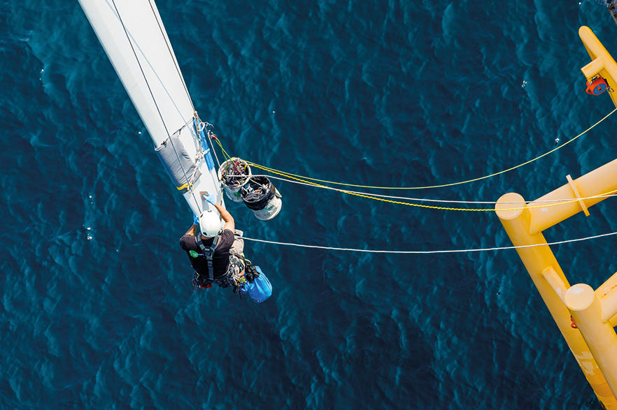 O&M providers will need to adapt their strategies to fit the expanding offshore wind market around the world (pic credit: Rope Partner)