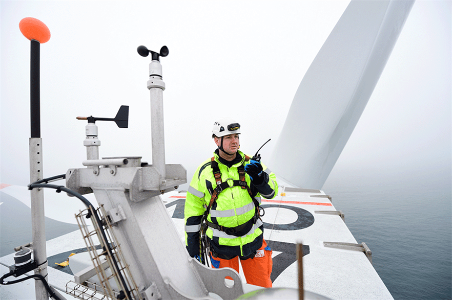 By 2025, the number of offshore wind jobs could total 589,000, with the rise in employment mirroring the anticipated growth in global offshore wind capacity (pic credit: Matthias Ibeler/Innogy)