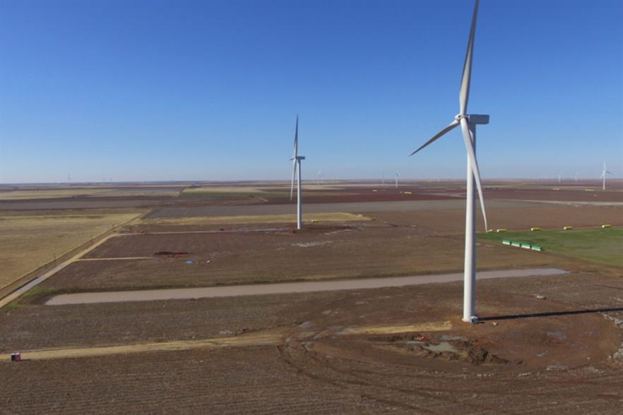 REsurety provided risk analytics enabling a PPA for Apex Clean Energy's Old Settler wind farm (above) in Texas last year