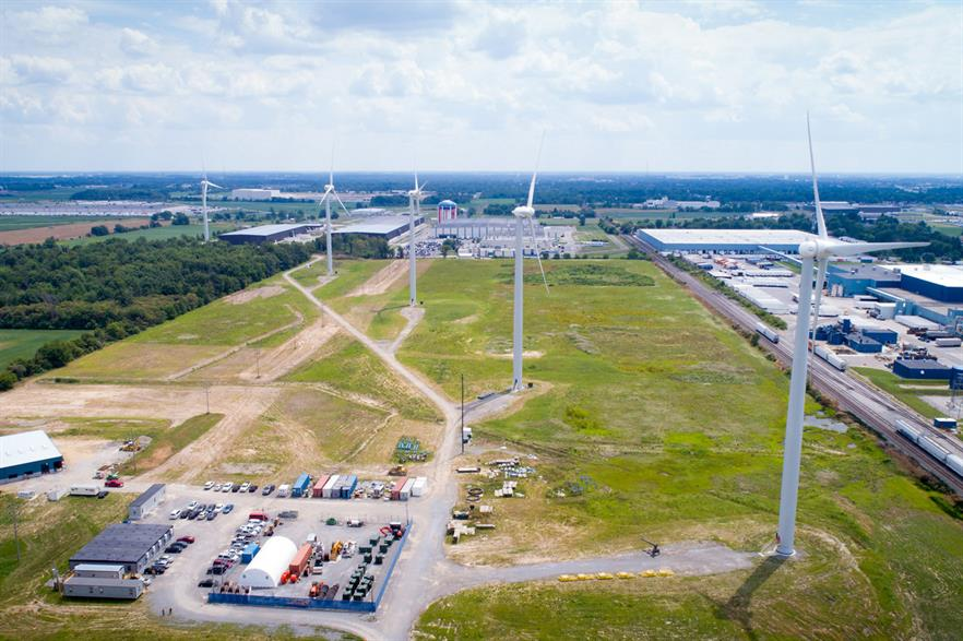 Goldwind has supplied turbines to other Whirlpool operations in Ohio