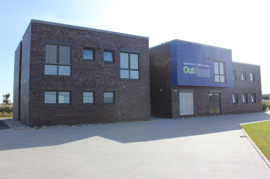 Outsmart's new operations control centre in Germany