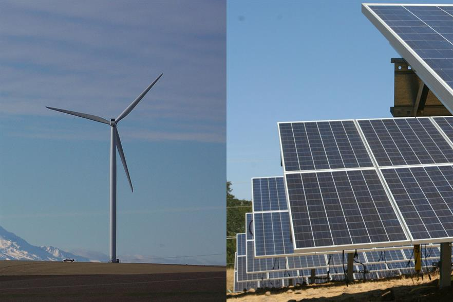 The 380MW Wheatridge Renewable Energy facility will be the first to combine wind, solar and storage on this scale (pics: Portland General Electric)