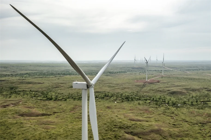 Ørsted's 367MW Western Trail wind farm in Texas forms part of a 4.7GW portfolio of operational or under-construction onshore renewables projects
