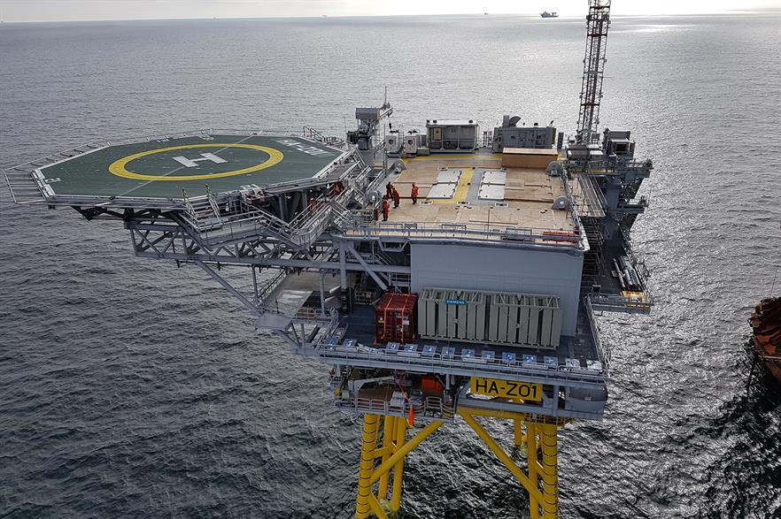 Ørsted said the offshore RCS is a world first