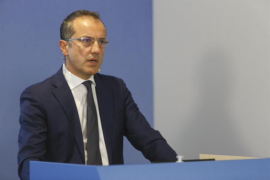 ERG boss Paolo Merli laid out the company's five year plan at its investor relations day
