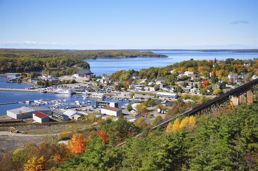 The project will be built near the town of Parry Sound