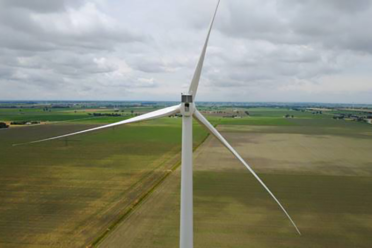 The 100MW Belle River project comprises 40 of Siemens' SWT-3.2-113 models