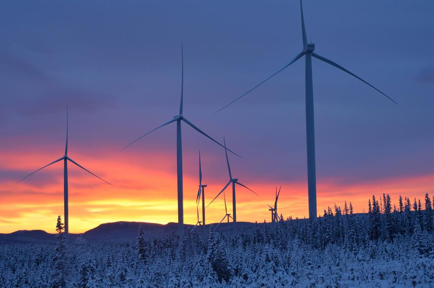 Pattern's 179MW Meikle wind farm in British Columbia, Canada, was completed in the third quarter