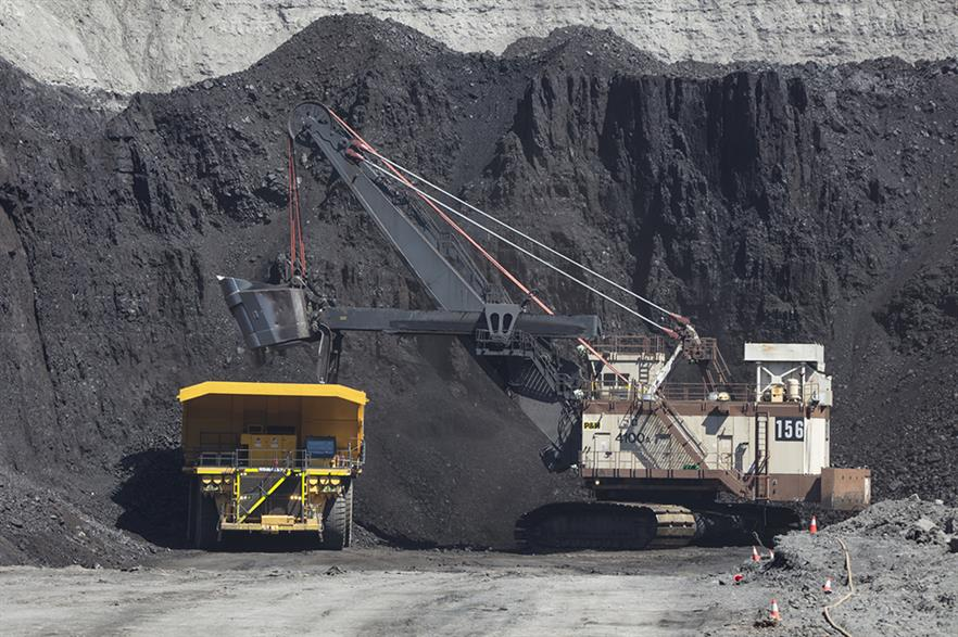 Coal use is falling sharply in Denmark and the US (pic: Peabody Energy)