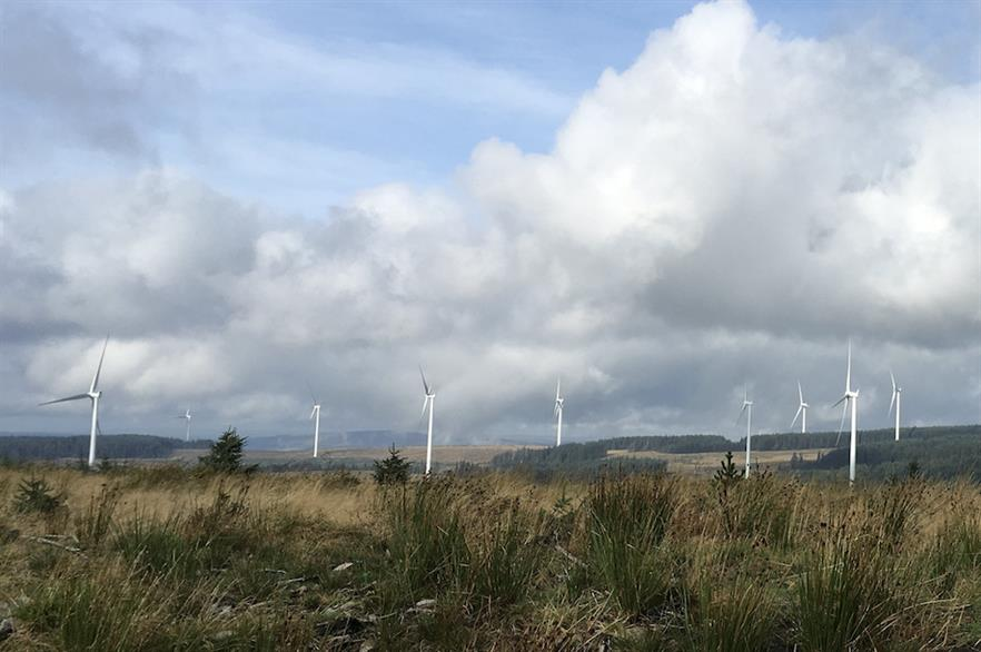 Welsh ministers believe onshore wind projects like the 228MW Pen y Cymoedd (above) site can help it meet its renewable energy target of 70% by 2030