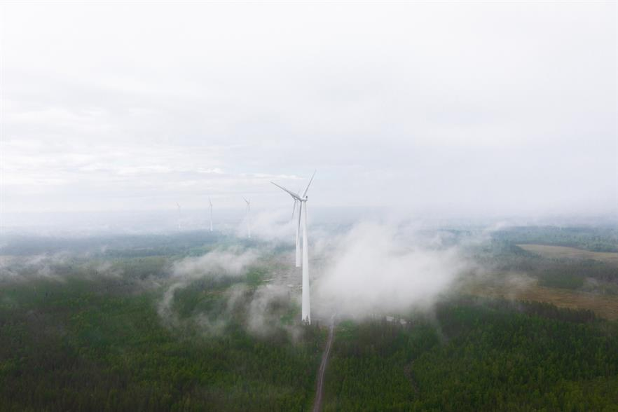 Ilmatar has stakes in 94MW of operational wind capacity, according to its website – including the 21MW Pirttiselkä project